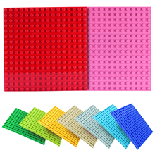 16*16 Dots Big Size Building Blocks BasePlates Accessories Base Plates Kids DIY Figure Blocks Toys Kids Bricks Children Gifts diy 4 floors baseplates tower