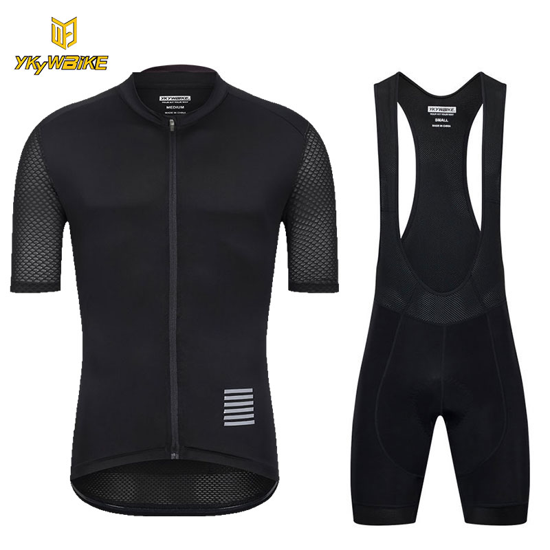 цена на YKYWBIKE 2018 Cycling Jersey Set Men MTB Bike Clothes Summer High Quality Bicycle Clothing Cycling Set Maillot Ropa Ciclismo