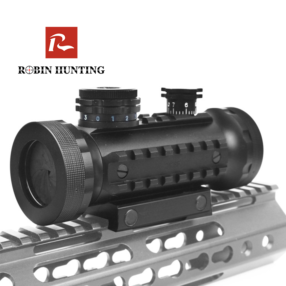 1X30 BSA Red Green Dot With Picatinny Weaver Rail Mount Dovetail Optical Sight For Riflescope Hunting Red Dot Sight