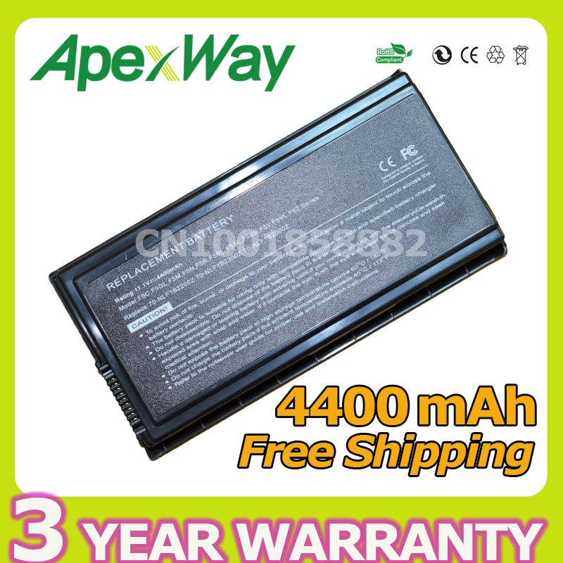 Apexway 6 cell battery For Asus a32 f5 a32-f5 a32 f5c F5 F5C F5GL F5M F5N F5R F5SL F5Sr F5V F5VI F5Z X50 X50C X50M X50N X50R for asus f5r f5rl x50r x50rl laptop motherboard rev rev2 3 replace f5sl f5n motherboard fully tested 100