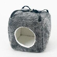 Cute portable cat hammock / house / cave