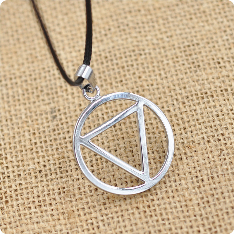 Anime Naruto Akatsuki Hidan Necklace Pendant Cosplay Accessories Props