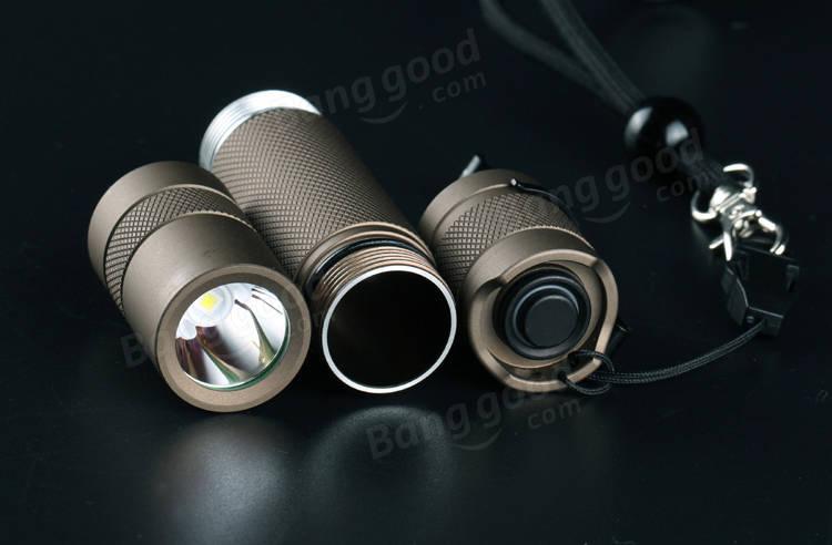 Convoy S2+ Sand XP-L HI 7135x8 3/5modes EDC LED Flashlight 18650