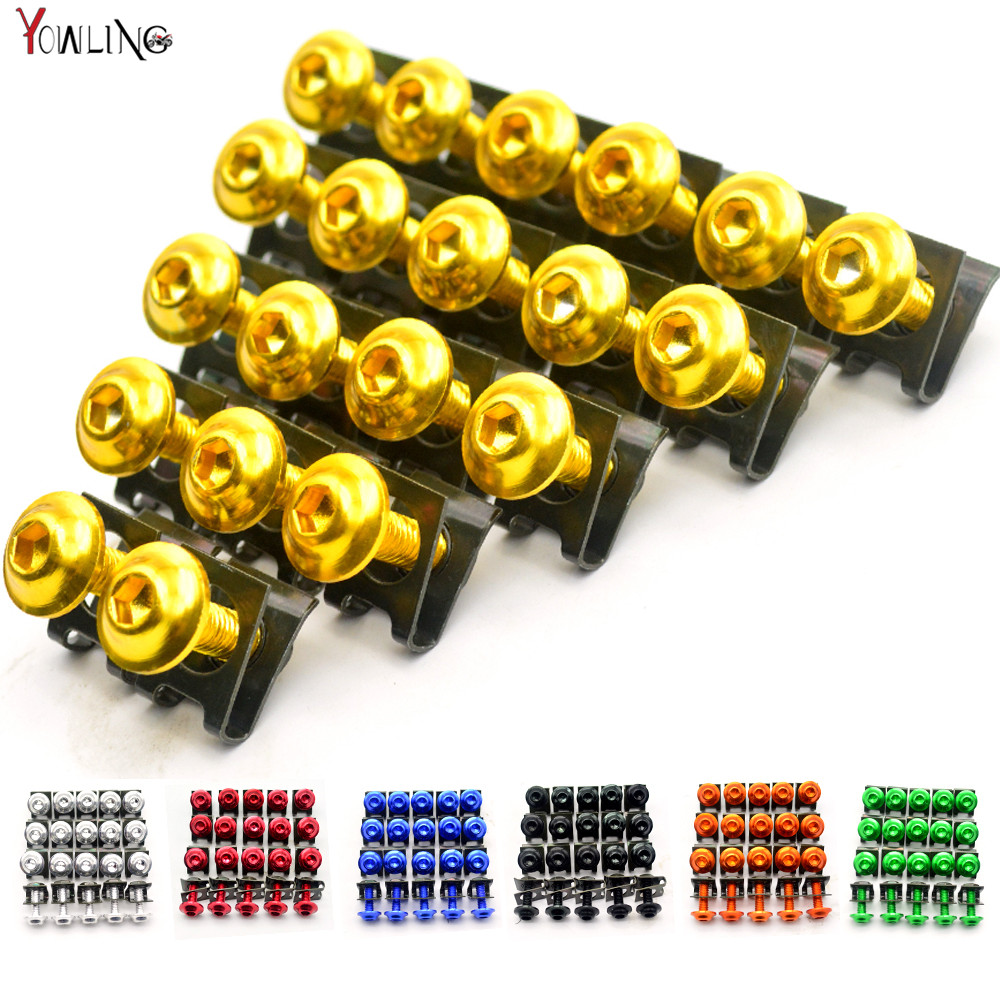 20pcs CNC Motorcycle Accessories Fairing Body Work Bolts Screw for Yamaha YZF-1000 YZF600 R1 R6 R3 R25 Tmax T-MAX 500 530 Moto 20x 6mm motorcycle accessories fairing body work bolts for yamaha mt 09 mt09 07 sj6n xj6 fz6 sj6s fz6s fz6 fazer tmax 530 500