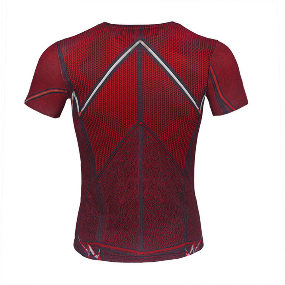 Flash T shirt Spiderman hero Costume Cosplay T Shirt Compression Shirt  Fitness Tops Crossfit Camiseta Bodybuilding Tees-in Anime Costumes from  Novelty ... 618b754a2c40c