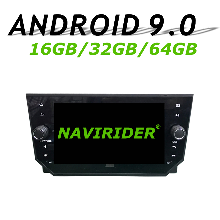 High configuration Octa Core Android 9.0 Car GPS For <font><b>SEAT</b></font> <font><b>IBIZA</b></font> <font><b>2018</b></font> Deckless navigation Car <font><b>Radio</b></font> bluetooth 64GB large memory image