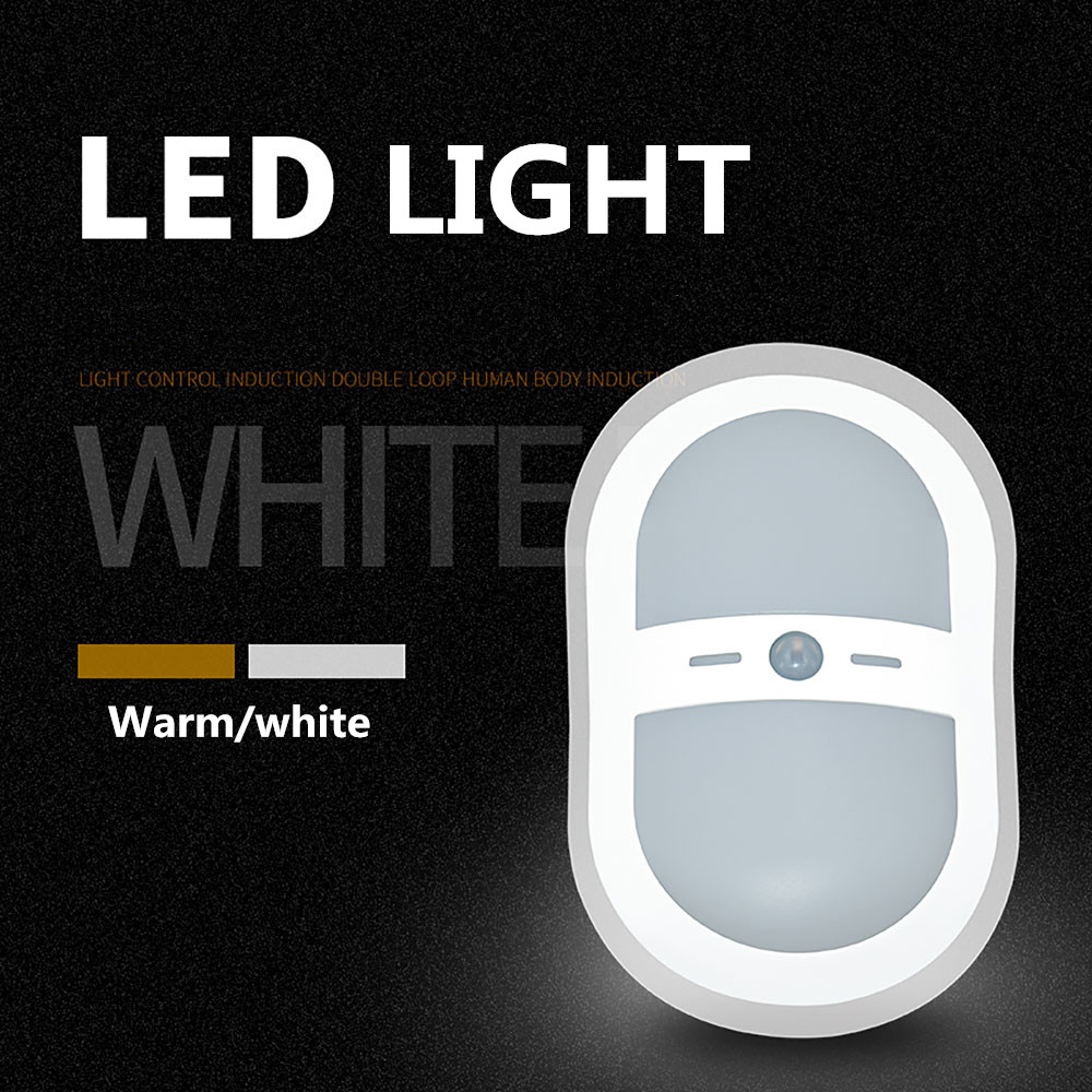 JXSFLYE LED Wall Light Wireless Automatic PIR Motion Sensor Activated Induction Light Lamp Indoor & Outdoor Use Battery Operated