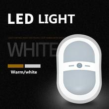 JXSFLYE светодиодный настенный светильник беспроводной автоматический ПИР Активированный датчик движения Индукционная лампа Indoor & Outdoor применение батарея работает