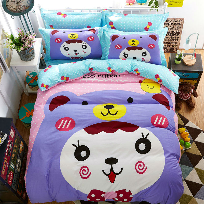 achetez en gros violet literie en ligne des grossistes violet literie chinois. Black Bedroom Furniture Sets. Home Design Ideas