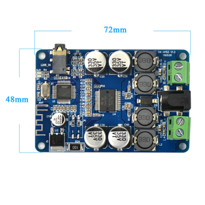 Image 2 - AIYIMA TDA7492P Bluetooth מגבר לוח 25Wx2 סטריאו כוח מגבר רמקולים מוסיקה מיני בית אודיו Amplificador DIY