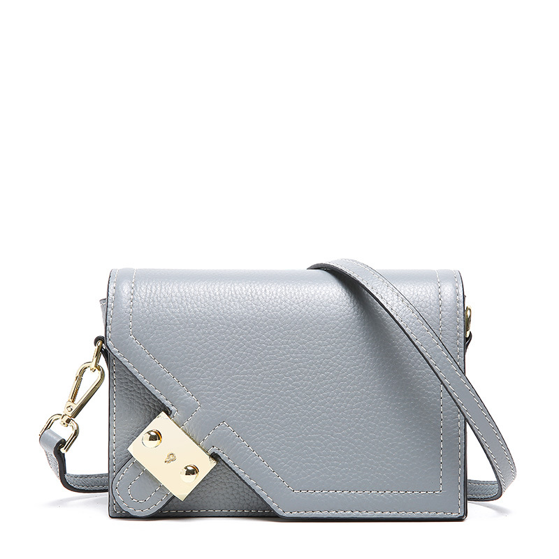 2019 New Summer Style Women Mini Crossbody Bag Genuine Leather Shoulder Bag Flap Bag Lady Messenger