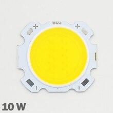 10 pièces LED COB 10W cree puce taille 28mm 20mm blanc froid/chaud adapté pour COB led bricolage puce cree projecteur LED projecteur
