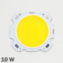 10 stücke LED COB 10W cree Chip Größe 28mm 20mm Kalt/Warm Weiß Fit Für COB led DIY chip cree LED Flutlicht Scheinwerfer