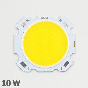 Image 1 - 10pcs LED COB 10W cree שבב גודל 28mm 20mm קר/חם לבן Fit עבור COB led DIY שבב cree LED הארה זרקור