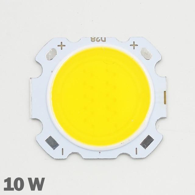 10pcs LED COB 10W cree שבב גודל 28mm 20mm קר/חם לבן Fit עבור COB led DIY שבב cree LED הארה זרקור