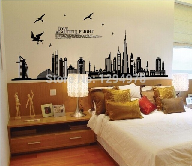 jm7280 free shipping removable vinyl wall sticker new arrival dubai