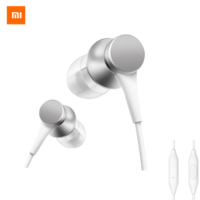 2017 New Original Xiaomi Piston Pop 3.5mm In-Ear Colorful Wire Control Earphone 1.25m with Mic For Smartphone Original Packing em290 copper wire earphone in ear with mic clear 3d sound quality handsfree call for android ios smartphone oppo xiaomi mp3 pc