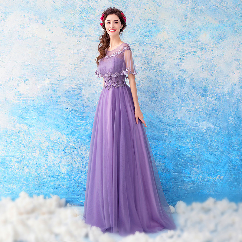 9b35f9cad6da9 Romantic Purple Pregnant Woman Evening Dress Maternity Clothing V Neck  Applique Beaded Sequins Maternity Party Gowns Arabic -in Dresses from Mother  & Kids ...