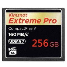 بطاقة ذاكرة Kimsnot Extreme Pro 1067x 128GB 256GB 64GB 32GB CompactFlash بطاقة CF بطاقة ذاكرة مدمجة عالية السرعة UDMA7 160 برميل/الثانية