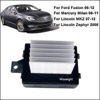 HVAC Heater Blower Motor Resistor Regulator For Ford Fusion Lincoln MKZ Zephyr Mercury Milan JA1712 8E5Z19E624A