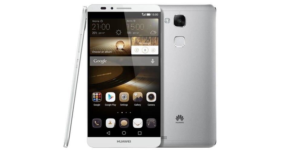 """Официальная прошивка Huawei Ascend Mate 7 4G мобильный телефон стандарта LTE на ОС Android 4,4 6,0 """"FHD 1920x1080 3 ГБ Оперативная память 32 ГБ Встроенная память NFC Fingrprint"""