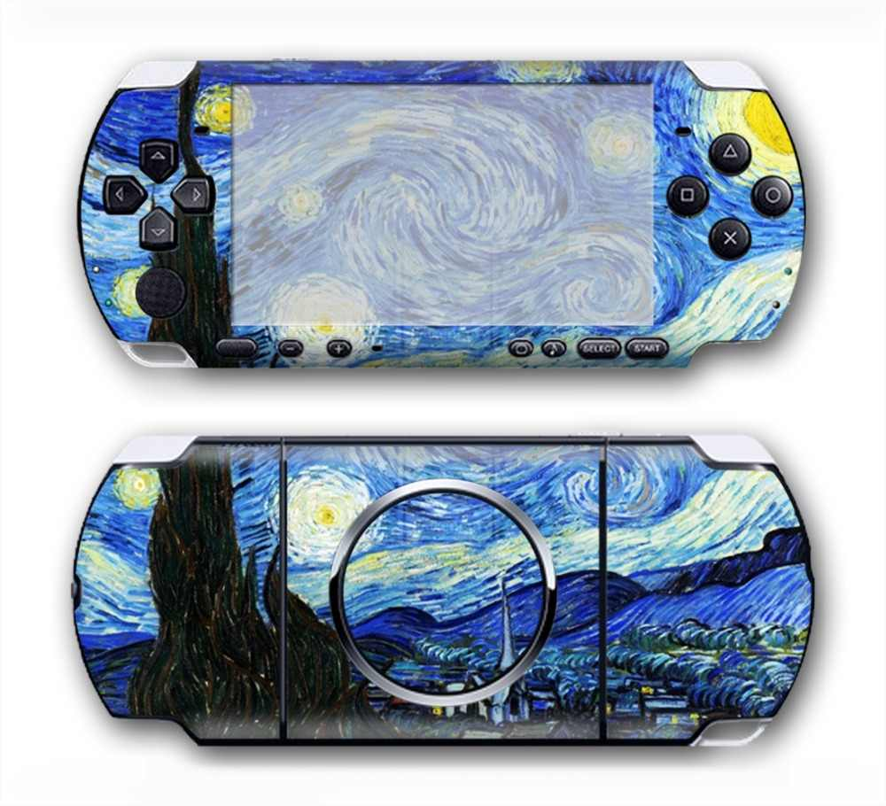 beautiful design star sky skin for Sony PSP 3000 Skin Stickers Custom Made Personalized Decal  #TN-PP3000-3004