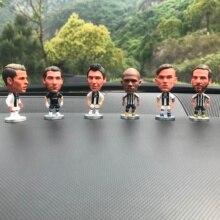 Car decoration Italy Spain Football star Ronaldi League Doll collection souvenir gift