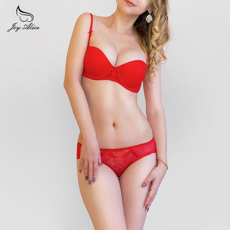 2018 new design France Brand push up bra set panties padded lace bra & brief sets intimates women underwear set lingerie