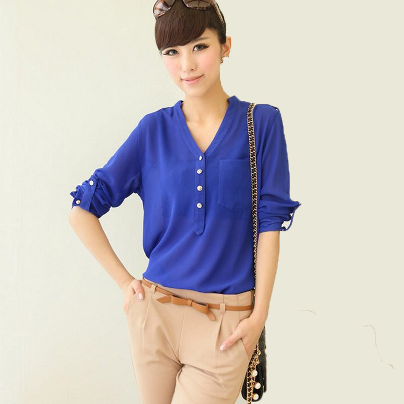 Online Get Cheap Blue Sheer Top -Aliexpress.com | Alibaba Group