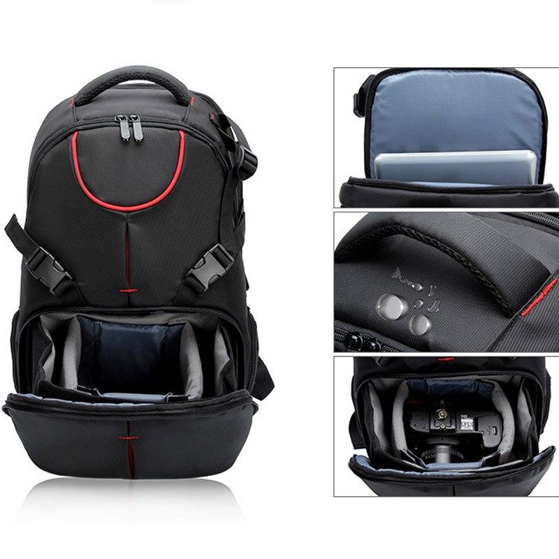 Sac à dos pour appareil photo numérique DSLR résistant à l'usure de voyage en plein air pour Sony A7RIII A7RII A6700 A6500 A6300 A7 III II 2 UMC-S3C