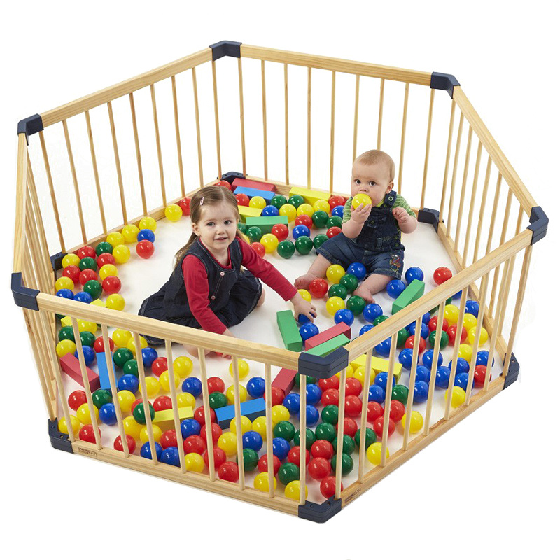 Solid Wood Gate Baby Playpen Export No Smell Health Baby