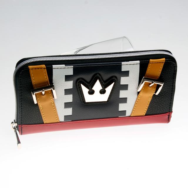 Kingdom Hearts Sora Cosplay Zip Around Wallet Women Purse DFT-5023