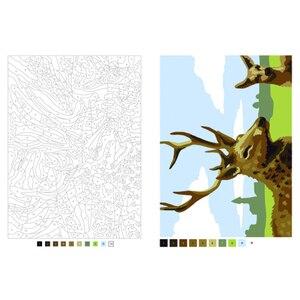 Image 4 - 성인을위한 디지털 그림 색칠하기 책 어린이 스트레스를 완화 비밀 정원 색칠하기 책 낙서 그림 그리기 책