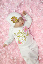 Baby Girl Clothes Newborn girl Take Home white outfit Baby Girl Gift Set Baby Gown