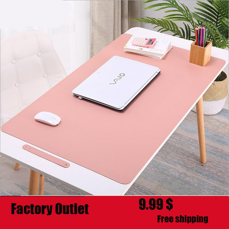 45*90cm Solid Color Keyboard Mouse Pad Office Table Business Mousepad For PC Laptop Gaming Mousepad Desk Mousepad