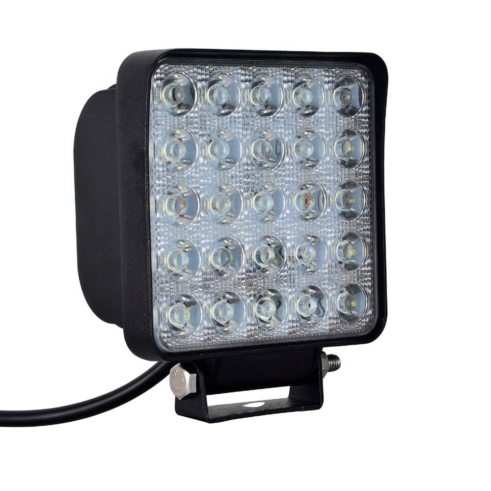 10PCS 75W 25x 3W 7500 LM автомобиль 12-24V жарық - LED Жарықтандыру - фото 3