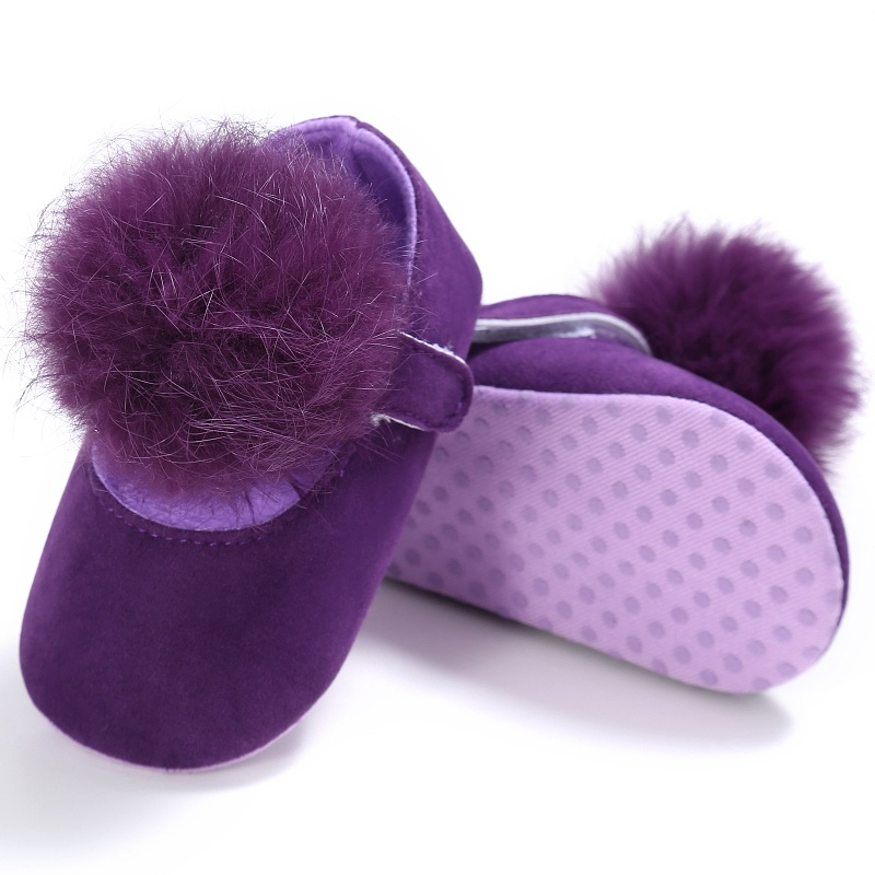 2017 Infant Baby Girl Anti-Slip Princess Crib Prewalker Shoes Girl First Walkers Pram Crib Baby Shoes Soft Sole Party Shoes Gift