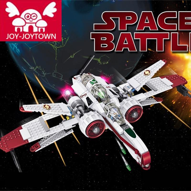 JOY-JOYTOWM Star Space Battle Captain Jag Clone Pilot R4-P44 ARC-170 Fighter Assembled Toy Building Blocks Toys E24 каркас для ванны am pm joy 170х75 см w85a 170 075w r