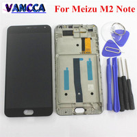 High Quality Meizu Touch Screen Digitizer LCD Display For Meizu M2 Note 5 5 Cellphone Black