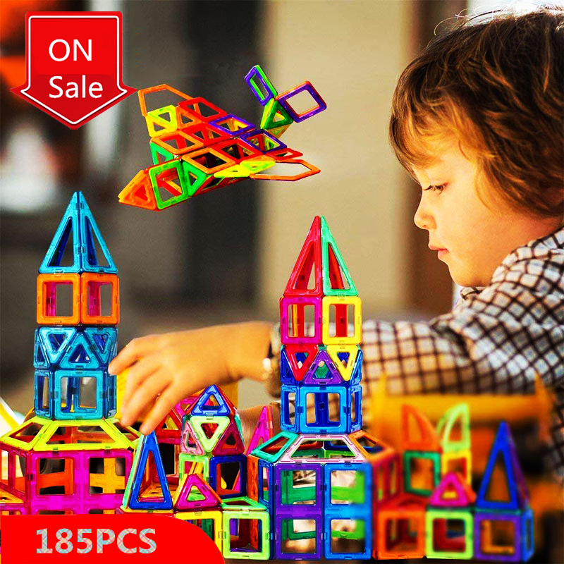 Mini Size Sets Diy Magnetic Building Blocks Magnet Designer Constructions Accessory Model Education Toys For Kids Christmas GiftMini Size Sets Diy Magnetic Building Blocks Magnet Designer Constructions Accessory Model Education Toys For Kids Christmas Gift