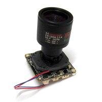 HD 2MP Sony IMX307 éclairage de lumière noire Starlight CCTV Module de caméra IP carte de circuit imprimé IPC  objectif 2.8 12mm|Caméras de surveillance| |  -
