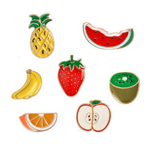 Rinhoo Semangka Kiwi Strawberry Orange Pisang Apple Pine Apple Kartun Buah Fashion Bros untuk Wanita dan Anak-anak Bros(China)