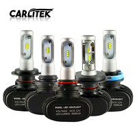 CARLitek S1 N1 Led 12V H4 H7 H11 Diodes Automobiles Bulbs 50W 8000LM 6000K Car Headlights