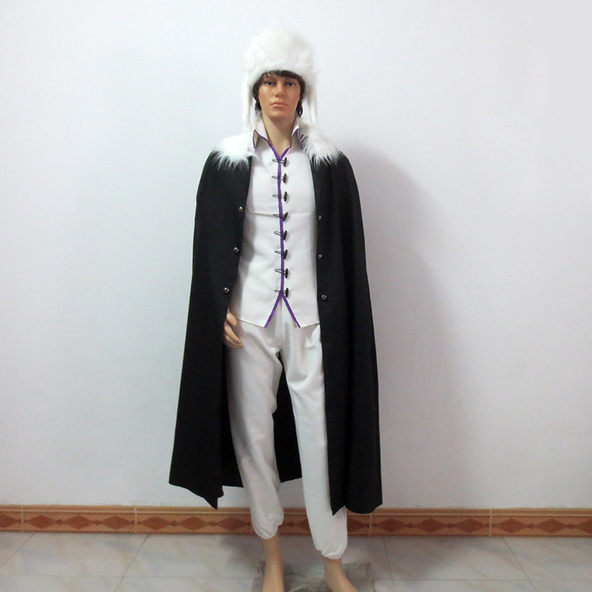 Bungo Stray Dogs Fyodor Dostoyevsky Christmas Party Halloween Uniform Outfit Cosplay Costume Customize Any Size