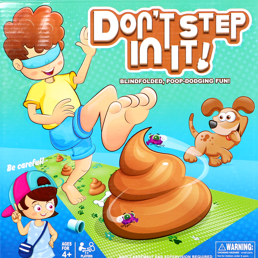 Step In The Fewest Poops To Win! Don't Step In It Family Party Game Toy Set  Funny Practical Joke Toy Gift For Children