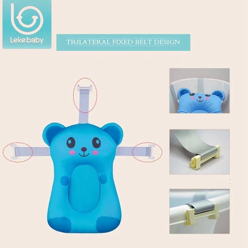 lekebaby Foldable Baby bath tub/bed/pad bath chair/shelf baby shower ...