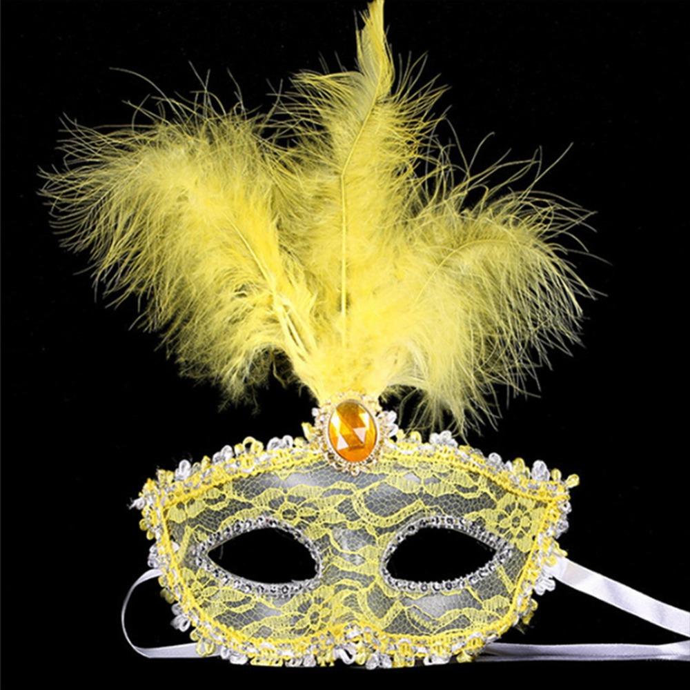 1Pc High Quality Hot Sale Lace Venetian Mask Masquerade Carnival ...