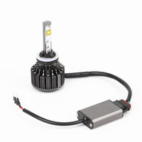 2X Car LED Headlight 12V 24V 60W 7200LM 6000K Light Auto Headlamp Bulb Kit H1 H3