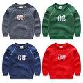 Boy long-sleeve fleece sweatshirts 2017 autumn and winter boys clothes child pullover sports sweatshirt outerwear