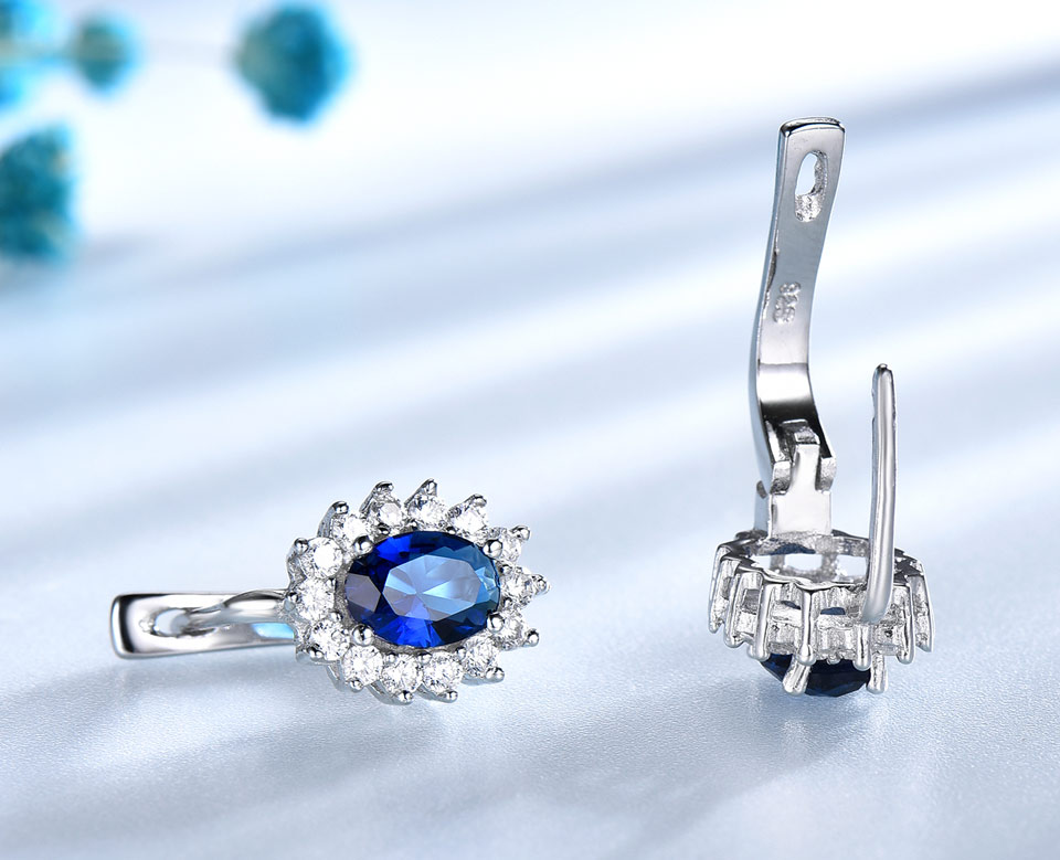 UMCHO-Sapphire-925-sterling-silver-clip-earrings-for-women-EUJ074S-1-pc_04